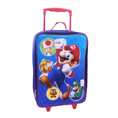 Look at this Nintendo Super Mario Pilot Case on today! Childrens Luggage, Best Luggage, Luggage Brands, Online Deals, Couple Shirts, Super Mario, Pilot, Nintendo, Lunch Box