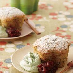[ル・クルーゼ公式] ほうじ茶と黒ごまのケーキ