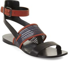 Beautiful Sandals, Cute Sandals, Strappy Sandals, Leather Sandals, Shoes Sandals, Flat Sandals, Gladiator Flats, Fashion Sandals, Loafer Sneakers