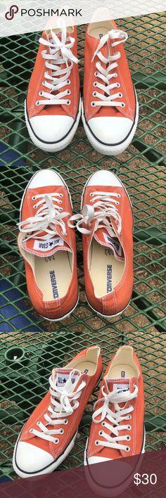ad5262a460cd Men s Burnt Orange Converse (Size 11) Longhorn orange converse