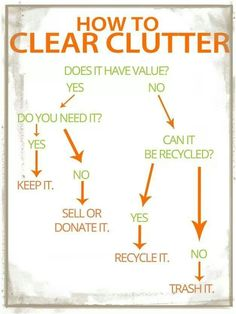 How to clear clutter