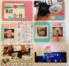 Project Life May 13-19 - Scrapbook.com