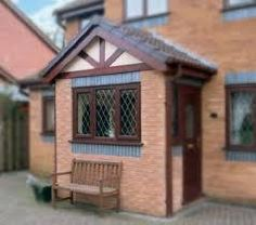 glazed porch with side door - Google Search