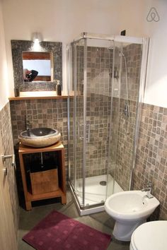 Charmant Basement Bathroom Ideas On Budget, Low Ceiling And For Small Space.