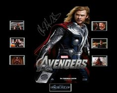 Avengers Film Cell Presentation  Thor by Everythingbutthatcom, £9.99