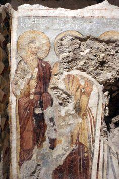 Santa Maria Antiqua, Roma. Gli affreschi, 705-707