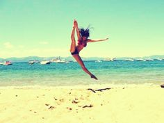 Tilt jump on the beach!