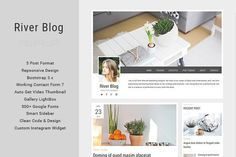River Blog - Elegant & Minimal Blog @creativework247