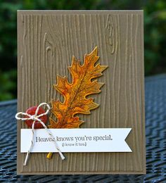 Krystal's Cards: Stampin' Up! Vintage Leaves Online Stamp Class #stampinup #krystals_cards #vintageleaves #onlinestampclass #handstamped #papercrafts #cardmaking #stampsomething