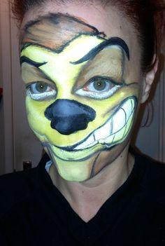 Hakunamatada Lion King Face Painting......Timone
