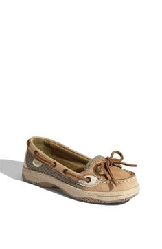 Sperry Top-Sider® Kids 'Angelfish' Boat Shoe (Little Kid & Big Kid) available at #Nordstrom