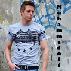 Muhammad Ali T-shirt €17,99 http://mymenfashion.com/muhammad-ali-t-shirt.html