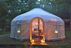 Woodland Tipis Yurts, Herefordshire | Cool Camping - I do love a Yurt :)