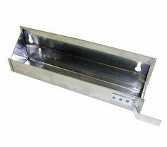 "Hardware Distributors FESFT 19 19in Tip Out with Stop Stainless Steel by Hardware Distributors. $19.25. Stainless steel finish tip-out sink front trays. Includes stops. 2"" deep x 3"" H. Hinges sold separately. Type sink front hardware. Mounting style tip-out. Color Stainless Steel. 19""."
