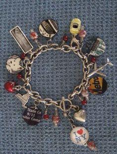 Trip Tokens: Travel Memorabilia Bracelet using shrink plastic!