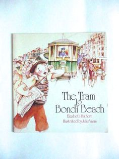 The Tram To Bondi Beach by Elizabeth Hathorn Illustrated by Bondi Beach, S Pic, Illustration, Pictures, Etsy, Art, Photos, Art Background, Kunst