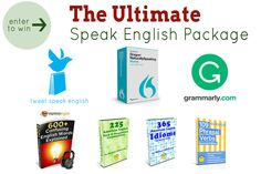 The Ultimate Speak English Package-http://blog.tweetspeakenglish.com/giveaways/total-english-learning-bundle/?lucky=423