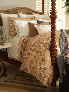 Bellosguardo Paisley Collection - Bed Collections   Home - RalphLauren.com Channeling the great estates of Santa Barbara and the casual lifestyle of the California coast, our Bellosguardo collection is designed with Southwestern-inspired stripes, sumptuous suede detailing, romantic ruffled accents, and paisley patterns in a variety of soothing, earthy hues.