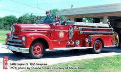 San Antonio Fire Department Seagrave Engines