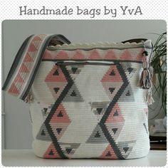 Ovale mochila bag door Handmade bags by YvA