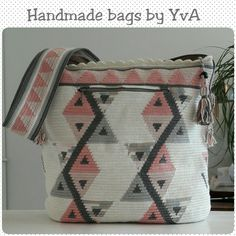 Ovale mochila bag door Handmade bags by YvA