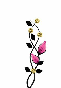 Embroidery Flowers Pattern, Flower Patterns, Flower Designs, Embroidery Designs, Simple Flower Design, Simple Flowers, Butterfly Nail Art, Easter Egg Pattern, Easter Projects