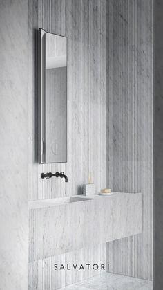 Restroom Design, Bathroom Interior Design, Modern Baths, Modern Bathroom, Marble Bathtub, Marble Bathrooms, Bathroom Toilets, Washroom, White Tile Shower