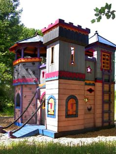 Barbara Butler-Extraordinary Play Structures for Kids -Count Rococos Castle