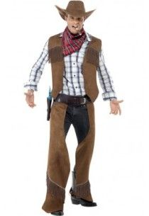 Adulto Texan cowboy hat Raso Rosa Accessorio Costume Festa Country Western