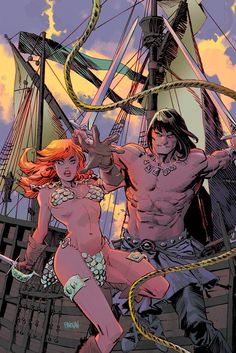 Dark Horse Cover of the Day: Conan Red Sonja #2