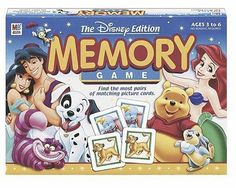 Memory Game - The Disney Edition Be sure to check out this awesome product. (This is an affiliate link) Disney Games, Disney Toys, Disney Ideas, Card Games For Kids, Family Board Games, Memory Games, Family Game Night, Picture Cards, Niece And Nephew