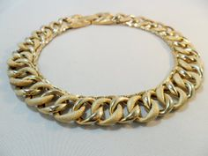 Vintage Necklace / Collar / Choker Gold Tone Metal by KathiJanes, $29.95