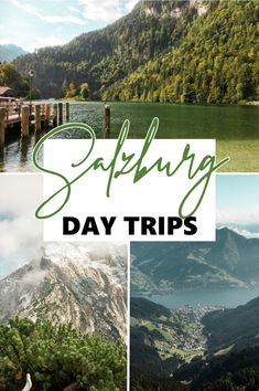 Day Trips from : Check out these three different day trips from Salzburg to see the beautiful countryside and mountain towns that surround the city. From Hallstatt, Berchtesgaden to Zell Am See! European Road Trip, European Travel Tips, Europe Travel Guide, Europe Destinations, Travel Inspiration, Travel Ideas, Travel Advice, Places To Travel, Places To Go