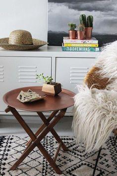 DIY IKEA Hack - Copper End Table | Poppytalk