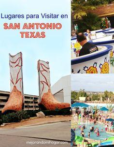 Hay mucho que hacer y lugares para visitar en San Antonio Texas!
