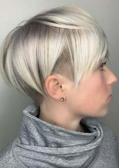 Rad Short Undercut Hairstyles 2018 for Women - Fashionre