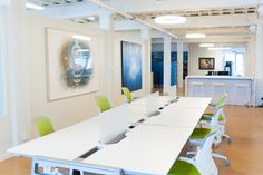 eco systm coworking space Shared Desk in San Francisco.