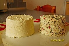 Ricotta selbst gemacht Ricotta homemade, a very nice recipe from the cheese category. Homeade Desserts, Homemade Cake Recipes, Homemade Cheese Dip, Kefir Benefits, Kefir Recipes, Cooking Pumpkin, Dessert Dips, Diy Food, Smoothie Recipes