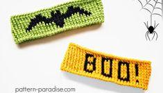 Tutorial: Twisted Single Crochet (SC) Stitch | Pattern Paradise Crochet Halloween Costume, Halloween Headband, Halloween Costumes, Halloween Stuff, Halloween Projects, Halloween Pumpkins, Halloween Decorations, Free Crochet, Crochet Hats