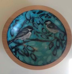 Hand painted bowls by nancyschaff