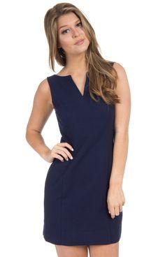 The Avery Solid Seersucker Dress
