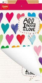 Acessórios Co. : Blocos Magnéticos - All I Need Is Love