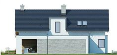 Projekt domu Arystoteles 144,5 m2 - koszt budowy - EXTRADOM Beautiful Home Designs, Beautiful Homes, Floor Plants, Country House Plans, Facade House, Modern House Design, Home Builders, New Homes, How To Plan