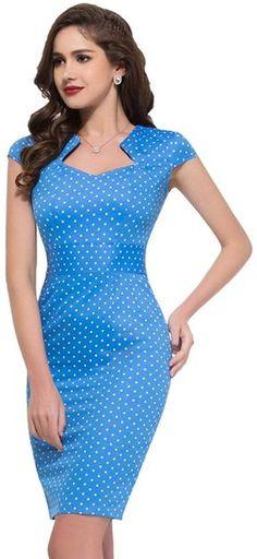GRACE KARIN Femme Robe Vintage à Manche Courte Taille Ajustée Rétro Taille 3XL YF07597-4: Amazon.fr: Vêtements et accessoires