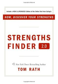 Strengthsfinder 2.0: A New and Upgraded Edition of the Online Test from Gallup's Now Discover Your Strengths by Tom Rath, http://www.amazon.co.uk/gp/product/159562015X/ref=cm_sw_r_pi_alp_h9Hkrb1T2T7J4