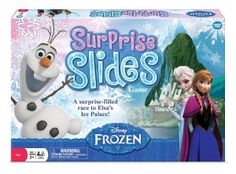 Disney Frozen Surprise Slides! Game Dive into the world of Frozen! Encourages life strategy. Promotes turn-taking and playing together.