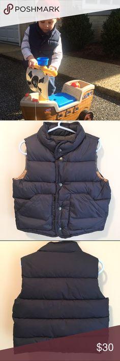 Gap Kids puffer vest Navy color, excellent used condition. Gap Jackets & Coats Vests