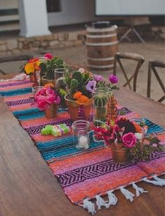 This bride picked the most colorful, fun wedding theme!