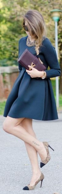 An  elegant  black  dress -  fashion  blogger  outfit  eleganti