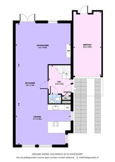 Floor plan ground floor.
